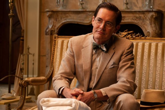 Kyle MacLachlan follows Capone with roles as FDR and Thomas Edison. Photo courtesy of Vertical Entertainment