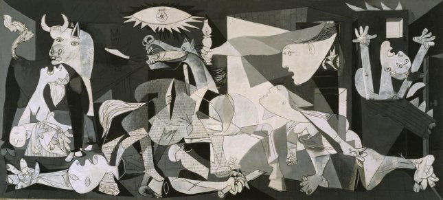 On September 10, 1981, Picasso's Guernica was delivered to Spain for the first time. The painter said it could not be taken there until democracy was restored. Image courtesy Museo Nacional Centro de Arte Reina Sofía