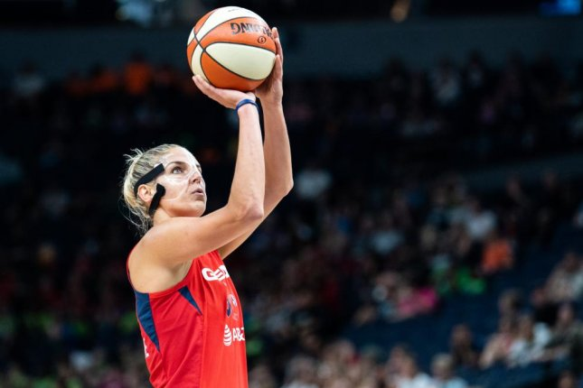WNBA MVP Elena Delle Donne had 21 points and nine rebounds in the Washington Mystics' win against the Connecticut Sun in Game 5 of the 2019 WNBA Finals. Photo courtesy of Lorie Shaull/Wikimedia Commons