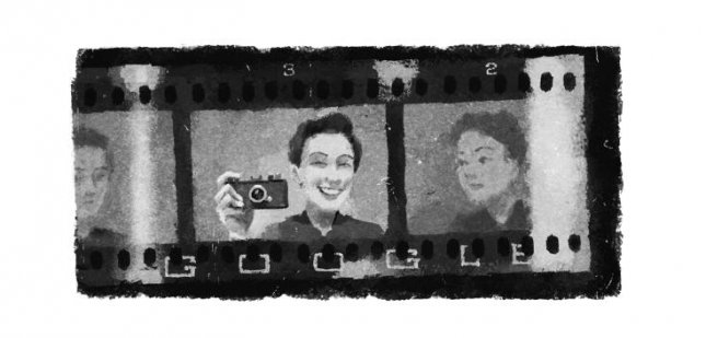 Google is paying homage to the first female journalist in the world who covered war, Gerda Taro with a new Doodle. Image courtesy of Google