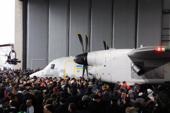 The AN-132D is a military transport aircraft designed to carry payloads across short and medium ranges. Photo courtesy of Ukroboronprom