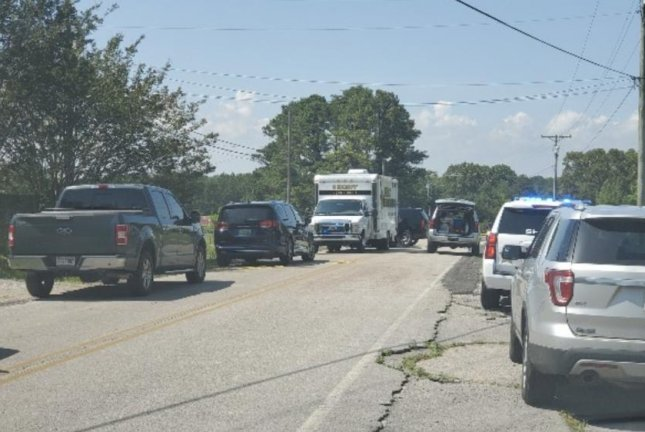 The shooting happened at a residence inValhermoso Springs, Ala. Photo courtesy of the Morgan County Sheriff's Office