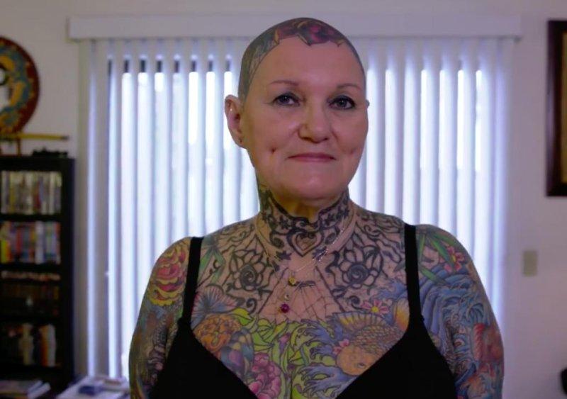 Most Tattooed Woman Nude 51
