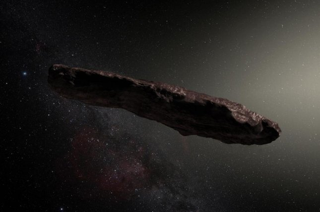 Asteroid probably came from two-star system