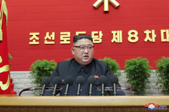 North Korean leader Kim Jong Un admitted economic failures at a speech to open a five-year party congress, state media reported Wednesday. Photo by KCNA