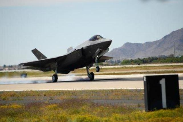 Lockheed Martin and the Defense Department reach an agreement on Tuesday to resolve compensation issues for improperly identified spare parts for the F-35 fighter plane.  Photo courtesy of U.S. Air Force
