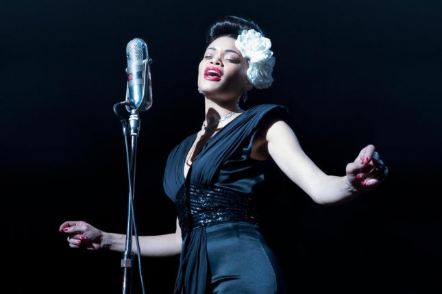 Adra Day plays the singer Billie Holiday in the Hulu original movie The United States vs. Billie Holiday. Photo courtesy of Hulu