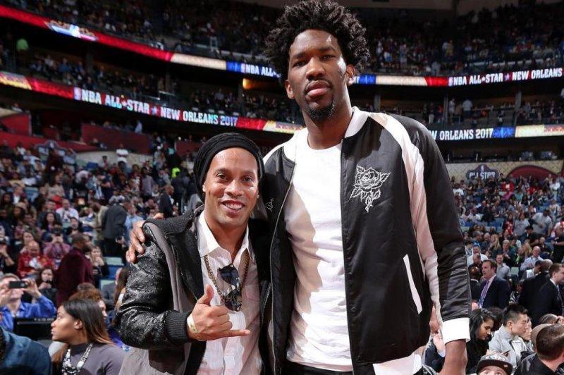 Philadelphia 76ers' Joel Embiid. (Sixers/Instagram)