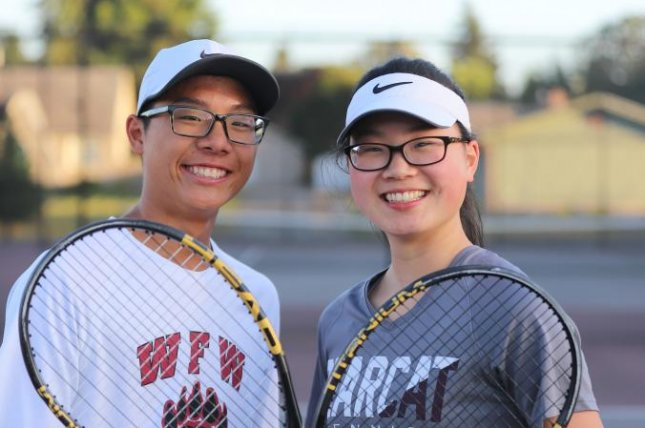 Siblings Joelle and Joseph Chung have gone to court to challenge a rule that does not provide religious accommodations allowing them to play in state championships while also keeping their Sabbath. Photo courtesy of Becket Fund for Religious Liberty