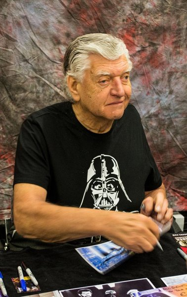 Star Wars actor David Prowse, seen here in 2013, has died at the age of 85. Photo courtesy of Wikimedia Commons