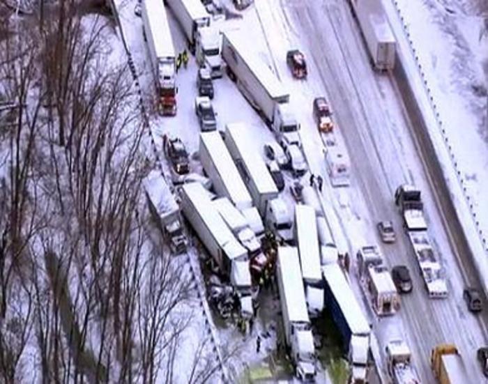 At least 3 killed, I-94 impassable near Michigan City, IN