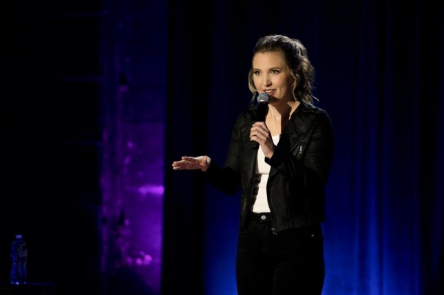 Comedian Taylor Tomlinson, whose hour-long special, Quarter Life Crisis, is streaming on Netflix Tuesday, said she tries to make sure her dirtier jokes are at least clever and not cheap. Photo courtesy of Netflix