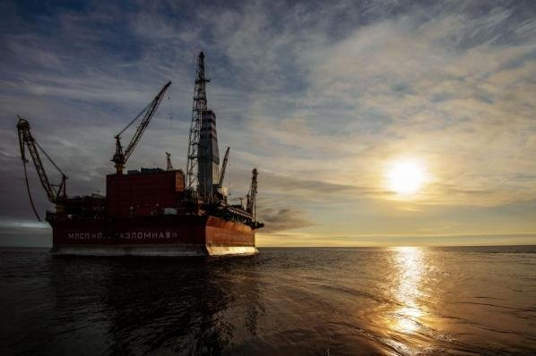 Russian oil company Gazprom Neft said production gains came in large part from Arctic oil fields. Photo courtesy of Gazprom Neft