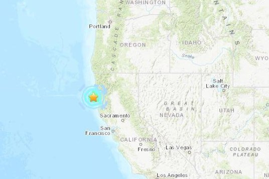 Magnitude 5 6 earthquake shakes Northern California - UPI com