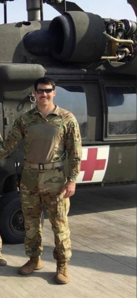 Chief Warrant Officer James A. Rogers Jr., 28, died Thursday in a helicopter crash near St. Cloud, Minn. Photo courtesy of the Minnesota National Gaurd/Website