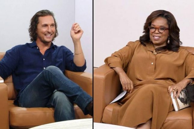 Matthew McConaughey will discuss his life and memoir, Greenlights, on Wednesday's episode of The Oprah Conversation. Photo courtesy of Apple
