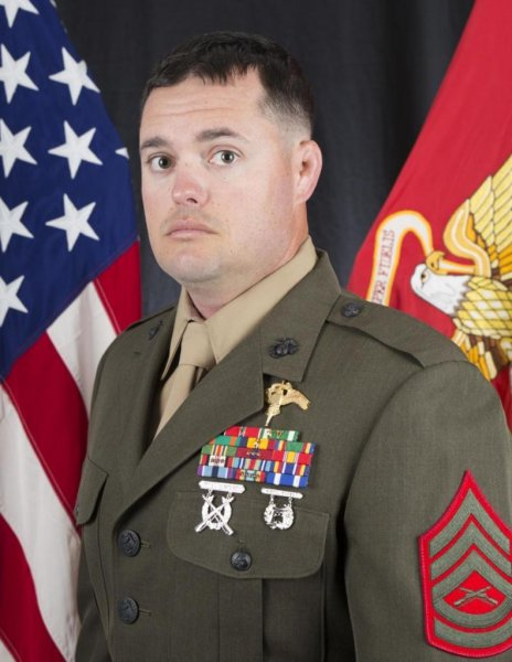 Gunnery Sgt. Scott A. Koppenhafer, 35, was killed in Iraq while supporting Operation Inherent Freedom. Photo by Gunnery St. Lynn Kinney/U.S. Marine Corps/Website