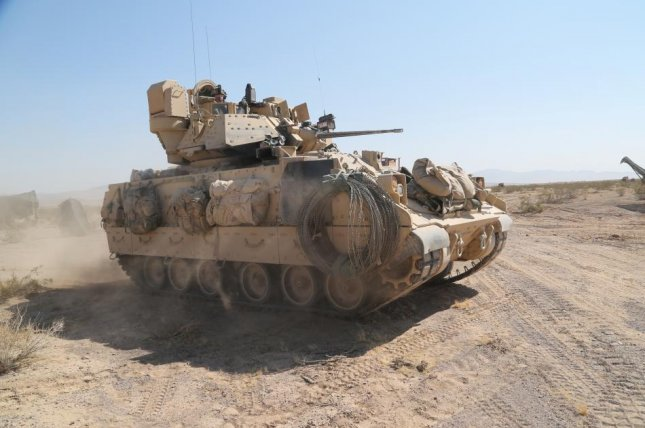 An M2 Bradley Fighting Vehicle, which are among those receiving engineering upgrades. U.S. Army photo