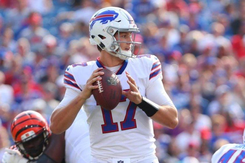 quality design df0c1 47b68 Buffalo Bills QB Josh Allen cleared of head injury - UPI.com