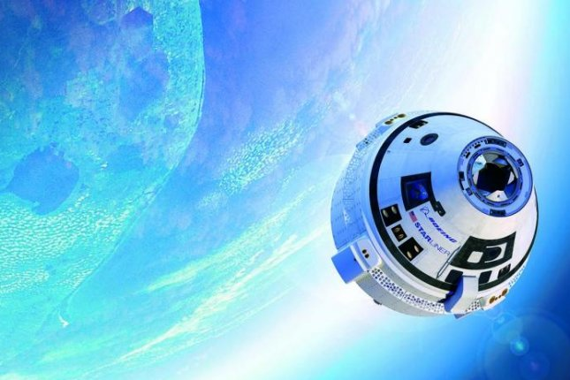 An artist's rendering shows the Boeing Starliner capsule. The company cited the upcoming launch of Starliner when it announced Wednesday it would move its space division headquarters to Florida. Image courtesy of Boeing
