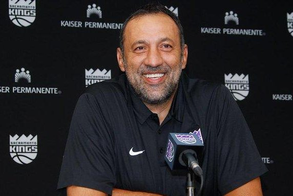The Sacramento Kings rewarded general manager Vlade Divac with an extension through the 2022-23 season on Thursday. Photo courtesy of the Sacramento Kings/Twitter