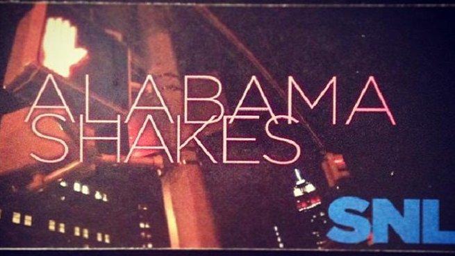 Alabama Shakes on SNL CREDIT: SNL