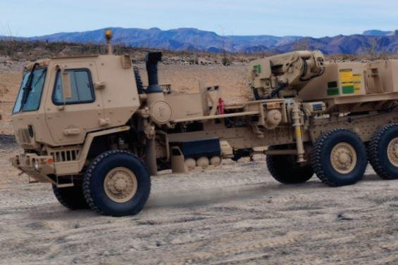 Oshkosh Defense LLC announced on Wednesday that the U.S. Army ordered 354 trucks and trailers in the Family of Medium Tactical Vehicles series. Photo courtesy of Oshkosh Defense