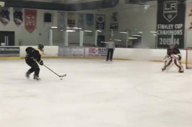 Watch Justin Bieber Nets Backhanded Penalty Shot In Hockey Game