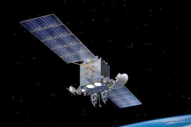The Advanced Extremely HIgh Frequency satellite system is used for various types of encrypted military communications around the world. Photo courtesy of U.S. Air Force