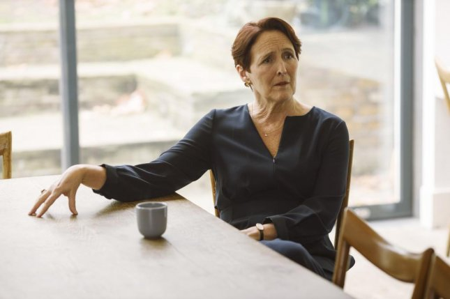 Fiona Shaw returns for Season 3 of Killing Eve on Sunday. Photo courtesy of BBC America