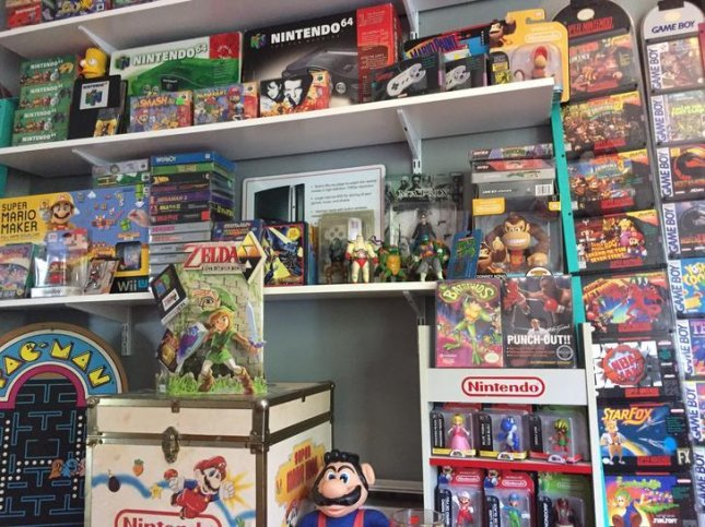 Charles Amble of Wisconsin made about $20,000 selling his extensive collection of Nintendo games, toys and other memorabilia. 
