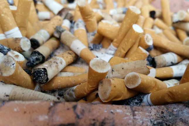 Even with sharp drops in the number of Americans who smoke, researchers at the American Heart Association say metabolites from nicotine can be detected in 41 percent of children in the United States. Photo by American Heart Association