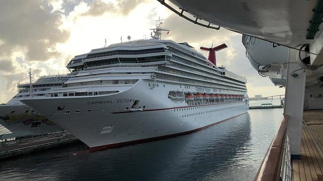The U.S. Coast Guard suspended its search for a missing Carnival Victory crew member on Sunday. Photo courtesy Justinpolanco/Wikimedia Commons