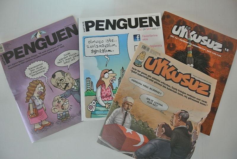 The Turkish magazine Penguen (CC/ wikimedia.org/ Arved)