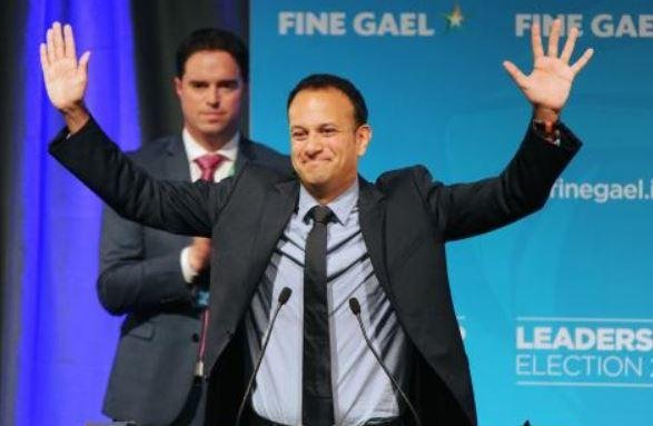 Leo Varadkar was elected the Republic of Ireland's prime minister on Wednesday. At 38 he is the youngest, and the first openly gay, person in the office. Photo by Aidan Crawley/EPA