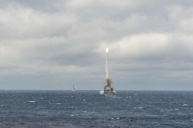 The U.S. State Department has approved a possible $821 million sale of SM-2 missiles to Japan, the Defense Security Cooperation Agency announced Tuesday. An SM-2 missile is shown here firing from the USS Monterey in March. U.S. Navy photo by Mass Communication Specialist 3rd Class Bill Dodge