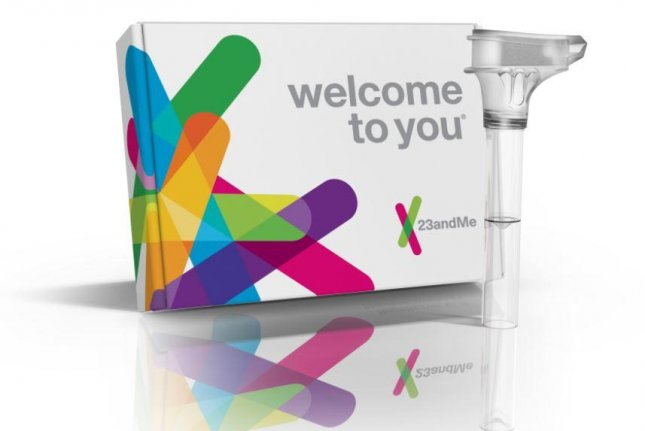 The genetics testing company, 23andMe, provides a home saliva test for consumers to learn about their families' countries of origin, along with information on genetic health risks. The FDA now allows the company to include information on a small number of potential breast cancer-causing mutations. Photo courtesy of 23andMe