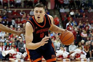 Bucknell transfer Nate Sestina will be playing with the Kentucky Wildcats next fall. The forward averaged 15.8 points per game last season for the Bison. Photo courtesy of Lex 18 News/Twitter