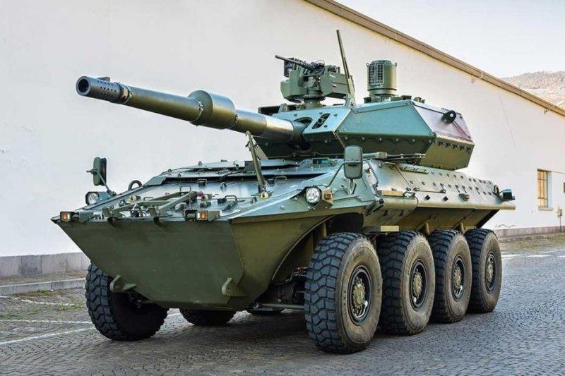 a929776b9e A Centauro II wheeled anti-tank gun