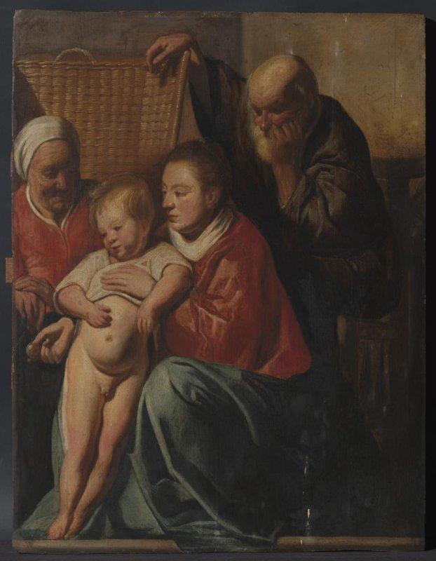 Il dipinto di Jacob Jordaens scomparso da tempo trovato appeso nell'ufficio municipale