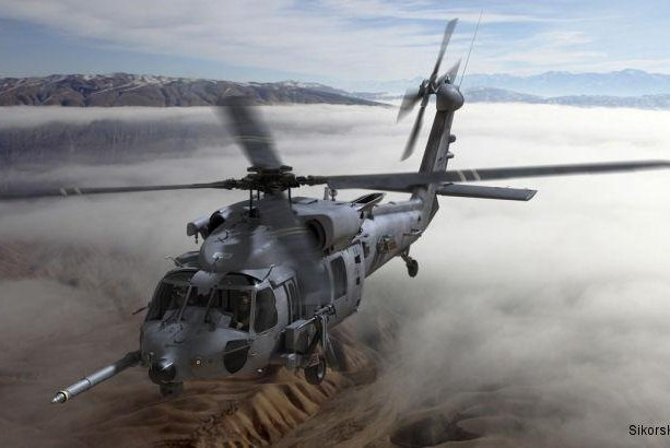 The U.S. Air Force's new HH-60W combat rescue helicopter will be based in Sikorsky's Black Hawk platform. HH-60W image courtesy Sikorsky
