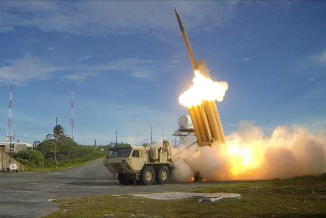 A flight test of the THAAD anti-ballistic missile system by the Missile Defense Agency. Photo courtesy of the Missile Defense Agency