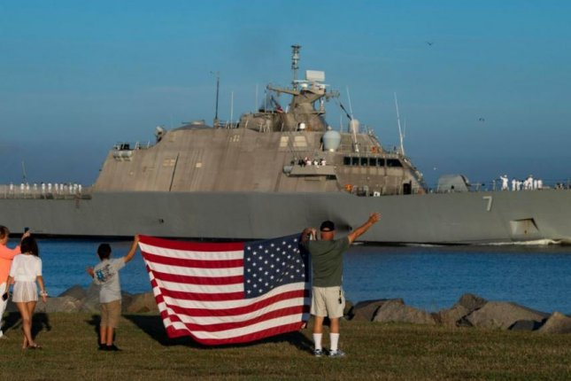 The U.S. Navy littoral combat ship USS Detroit began its first deployment on October 31, 2019, leaving Naval Station Mayport, Miss., for Central America. Photo by MCS3 Nathan T. Beard/U.S. Navy