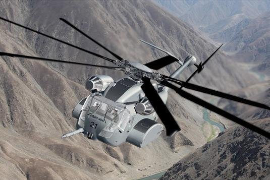 The CH-53K Super Stallion being developed by Sikorsky Aircraft has undergone structural testing. (Sikorsky Aircraft)