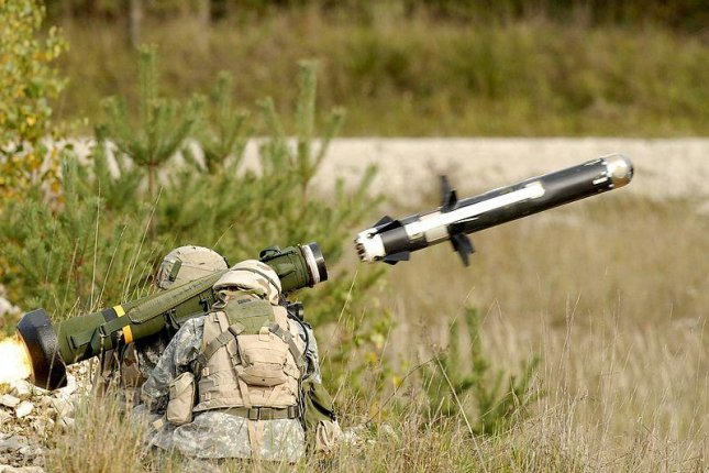 Javelin, a fire-and-forget anti-tank missile, is launched by U.S. soldiers. Photo courtesy U.S. Army