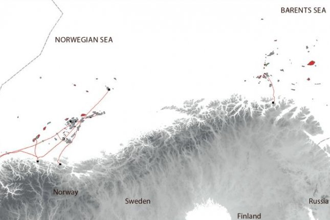 Norway needs to see production trends develop in the Barents Sea to keep output steady beyond 2025. Map courtesy of the Norwegian Petroleum Directorate.