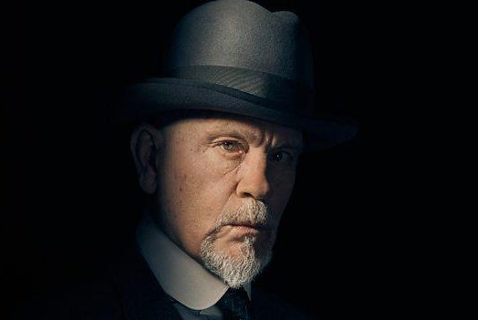 John Malkovich will soon be seen playing detective Hercule Poirot in the TV adaptation of Agatha Christie's The ABC Murders. Photo courtesy of the BBC