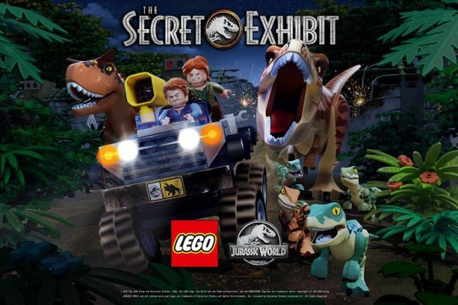 LEGO Jurassic World' special to air Nov  29 on NBC - UPI com