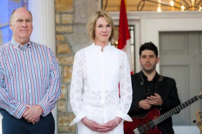 Kelly Knight Craft (C) will be President Donald Trump's nominee to be the U.S. ambassador to the United Nations, Trump said Friday. Photo courtesy U.S. Embassy in Canada
