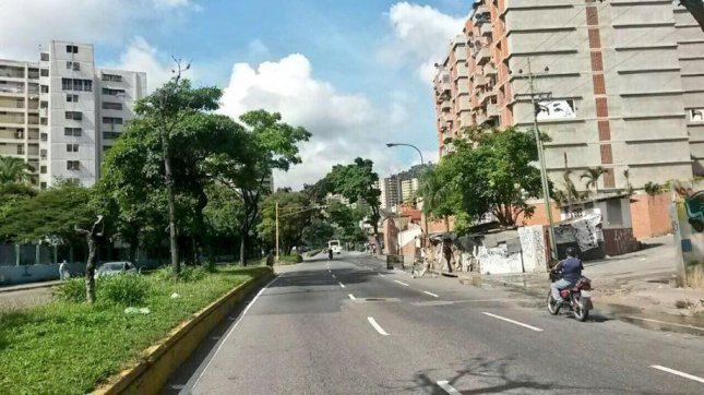 The capital of Venezuela, Caracas, has been uncharacteristically empty on Friday due to the opposition's nationwide strike. On Thursday, Venezuelan President Nicolas Maduro ordered a 40 percent minimum wage increase. Photo courtesy of Democratic Unity Roundtable